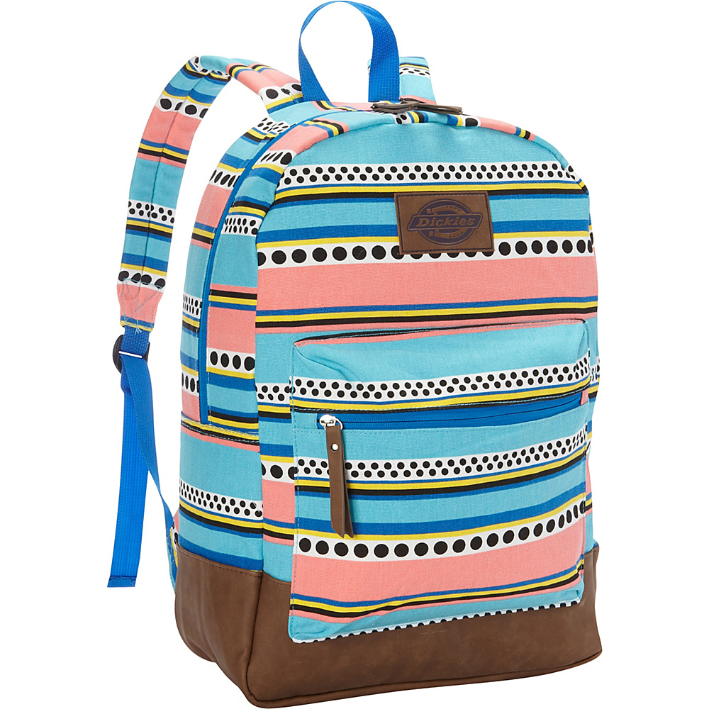 Dickies Hudson Cotton Canvas Backpack SURF STRIPE Dickies Everyday Backpacks