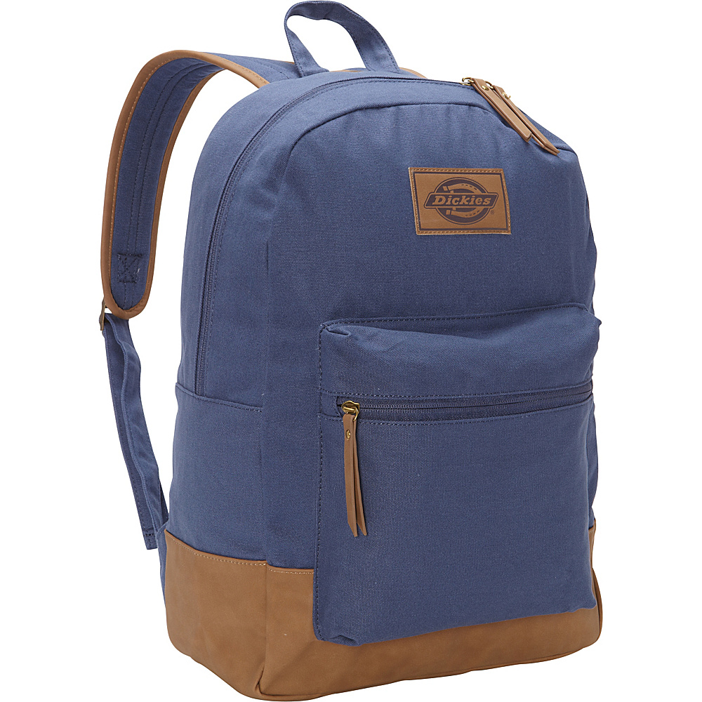 Dickies Hudson Cotton Canvas Backpack Navy Dickies Everyday Backpacks