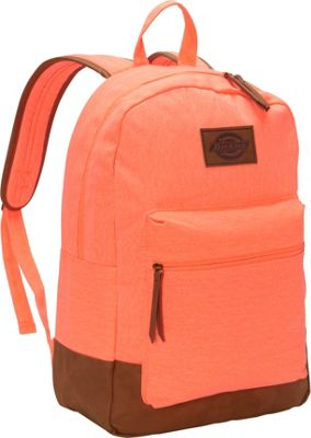 Dickies Hudson Cotton Canvas Backpack Washed Melon - Dickies Everyday Backpacks