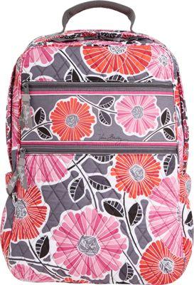 Vera Bradley Tech Backpack Cheery Blossoms - Vera Bradley Laptop Backpacks