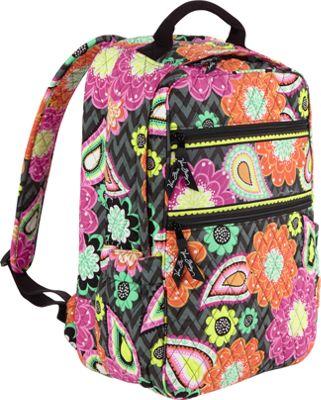 Vera Bradley Tech Backpack Ziggy Zinnia - Vera Bradley Laptop Backpacks
