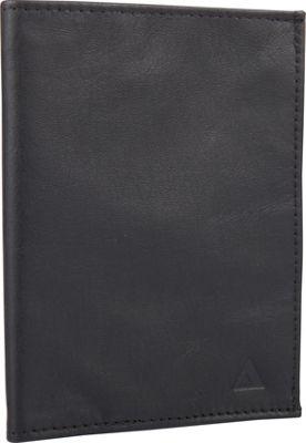 Image of Allett Leather RFID Passport Wallet Black - Allett Mens Wallets