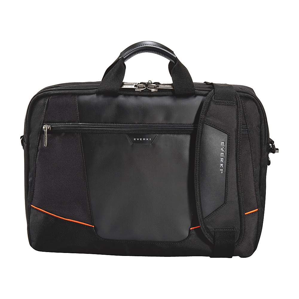 Everki Flight Checkpoint Friendly 16 Laptop Bag Black Everki Non Wheeled Business Cases
