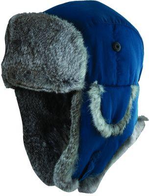 Woolrich Supplex Fur Trooper Hat M - Ink-Large - Woolrich Hats