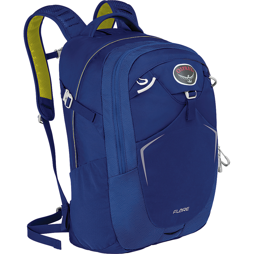 Osprey Flare Laptop Backpack Oasis Blue Osprey Business Laptop Backpacks