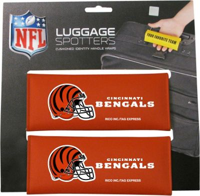 Luggage Spotters NFL Cincinnati Bengals Luggage Spotter Orange - Luggage Spotters Luggage Accessories