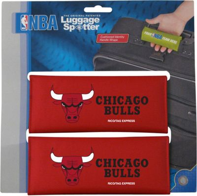 Luggage Spotters NBA Chicago Bulls Luggage Spotter Red - Luggage Spotters Luggage Accessories