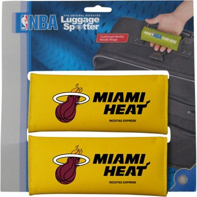 Luggage Spotters Luggage Spotters NBA Miami Heat Luggage Spotter Yellow - Luggage Spotters Luggage Accessories
