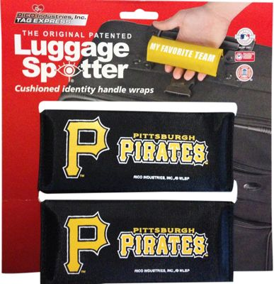 Luggage Spotters MLB Pittsburgh Pirates Luggage Spotter Black - Luggage Spotters Luggage Accessories