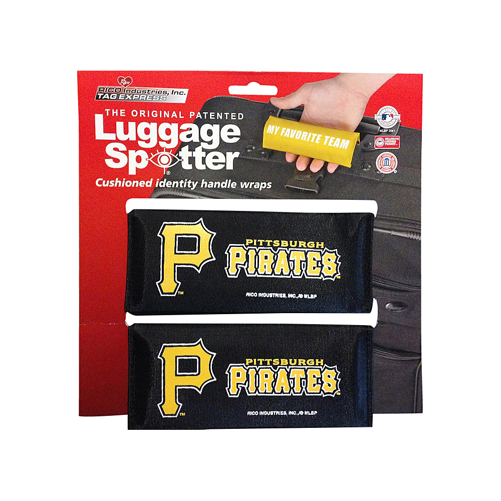 Luggage Spotters MLB Pittsburgh Pirates Luggage Spotter Black Luggage Spotters Luggage Accessories
