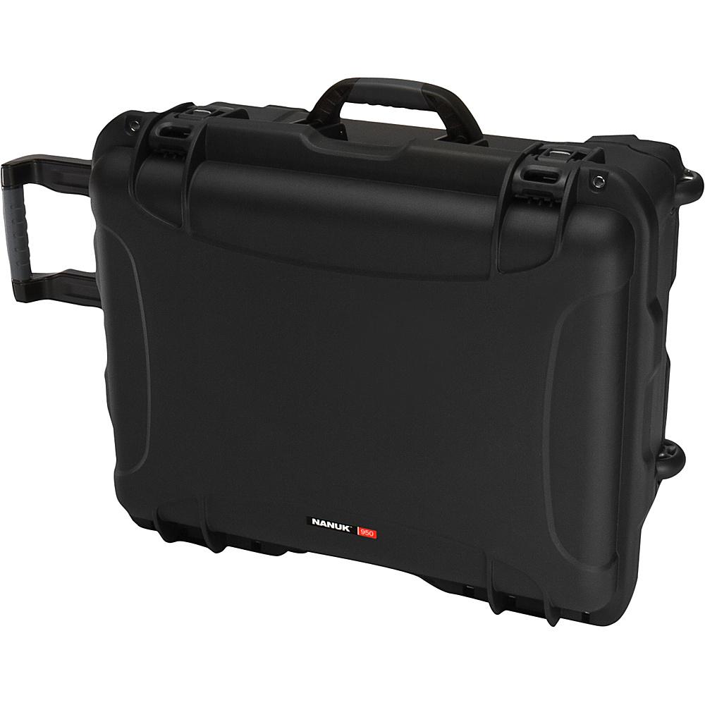 NANUK 950 Case With Padded Divider Black NANUK Hardside Luggage