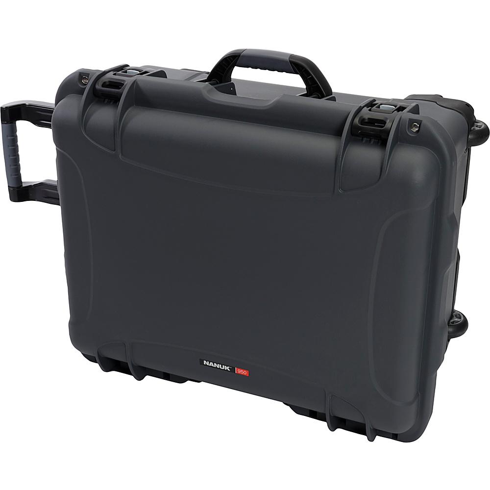 NANUK 950 Case With Padded Divider Grey NANUK Hardside Luggage