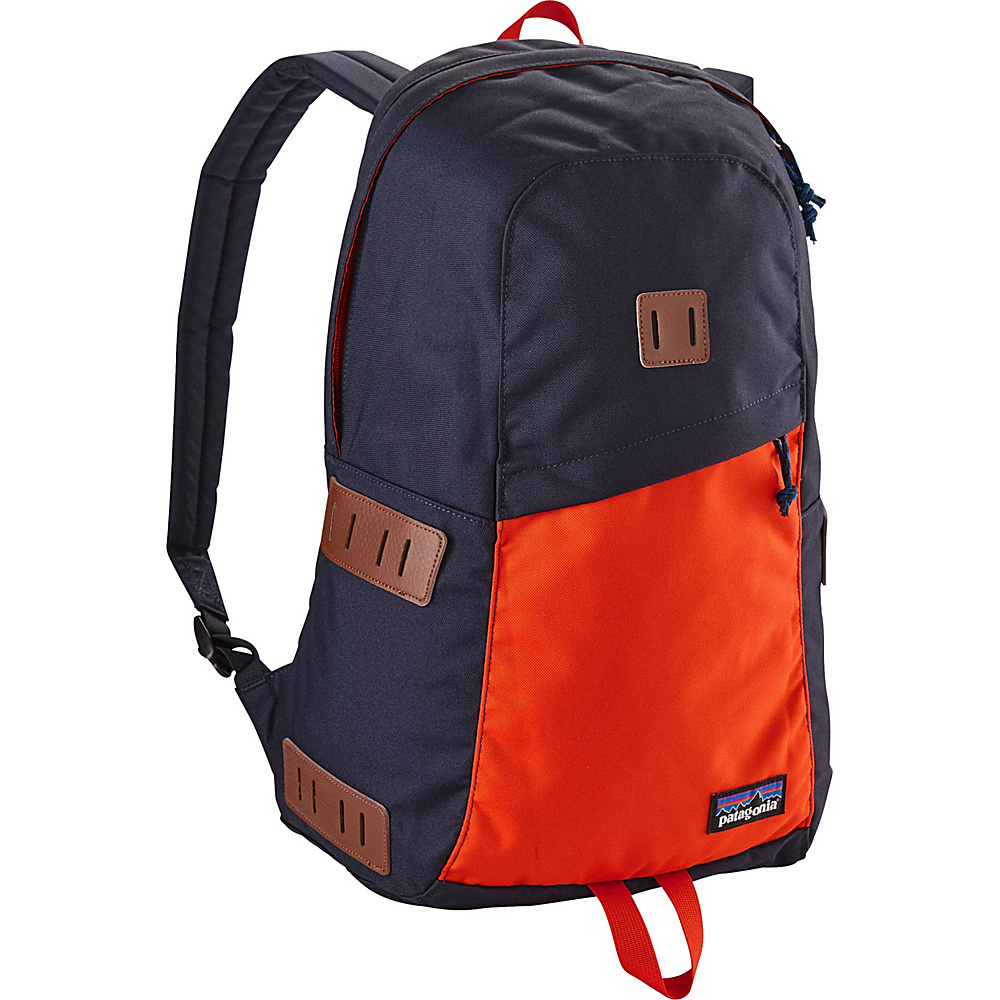 Patagonia Ironwood Pack 20L Navy Blue w/Paintbrush Red - Patagonia Business & Laptop Backpacks - Backpacks, Business & Laptop Backpacks
