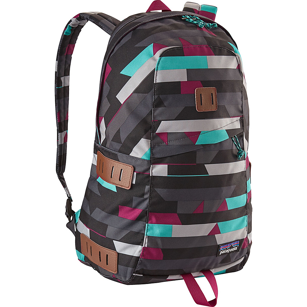 Patagonia Ironwood Pack 20L Upstream Stripe: Smolder Blue - Patagonia Business & Laptop Backpacks - Backpacks, Business & Laptop Backpacks