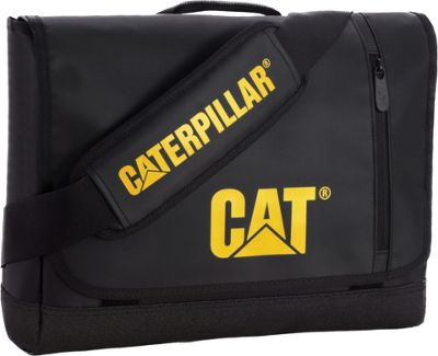 CAT Great Basin Small Messenger Bag Black - CAT Messenger Bags