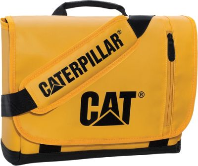 CAT CAT Great Basin Small Messenger Bag CAT Yellow/Black - CAT Messenger Bags