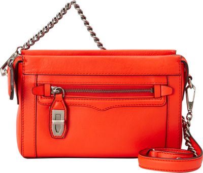 Rebecca Minkoff Mini Crosby Crossbody Hot Orange - Rebecca Minkoff Designer Handbags