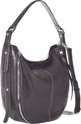 Sanctuary Handbags Venice Hobo Black Leather - Sanctuary Handbags Designer Handbags