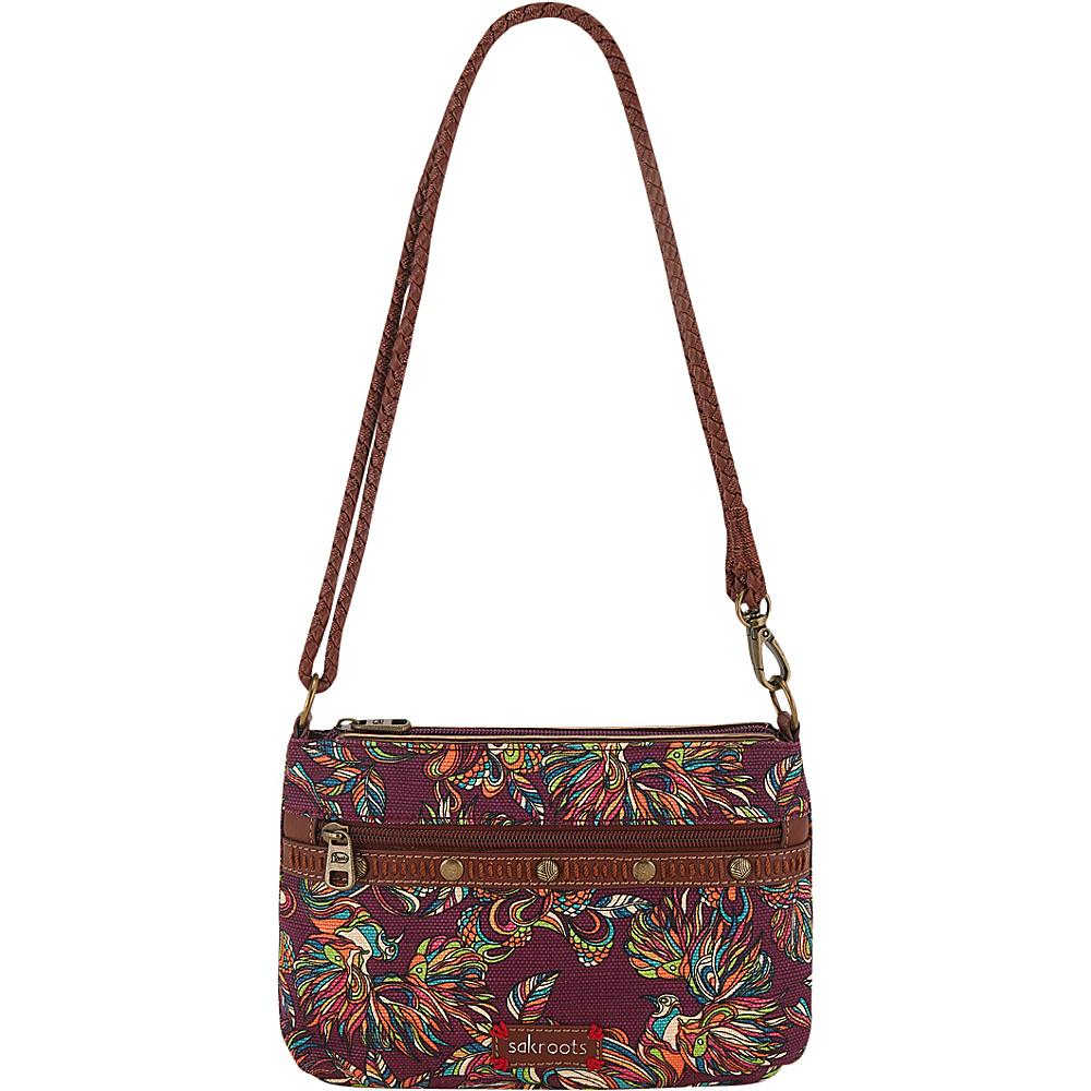 9e17ee04fecc  24.99 More Details · Sakroots Artist Circle Campus Mini Mulberry Treehouse  - Sakroots Fabric Handbags