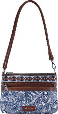 Sakroots Artist Circle Campus Mini Navy Spirit Desert - Sakroots Fabric Handbags