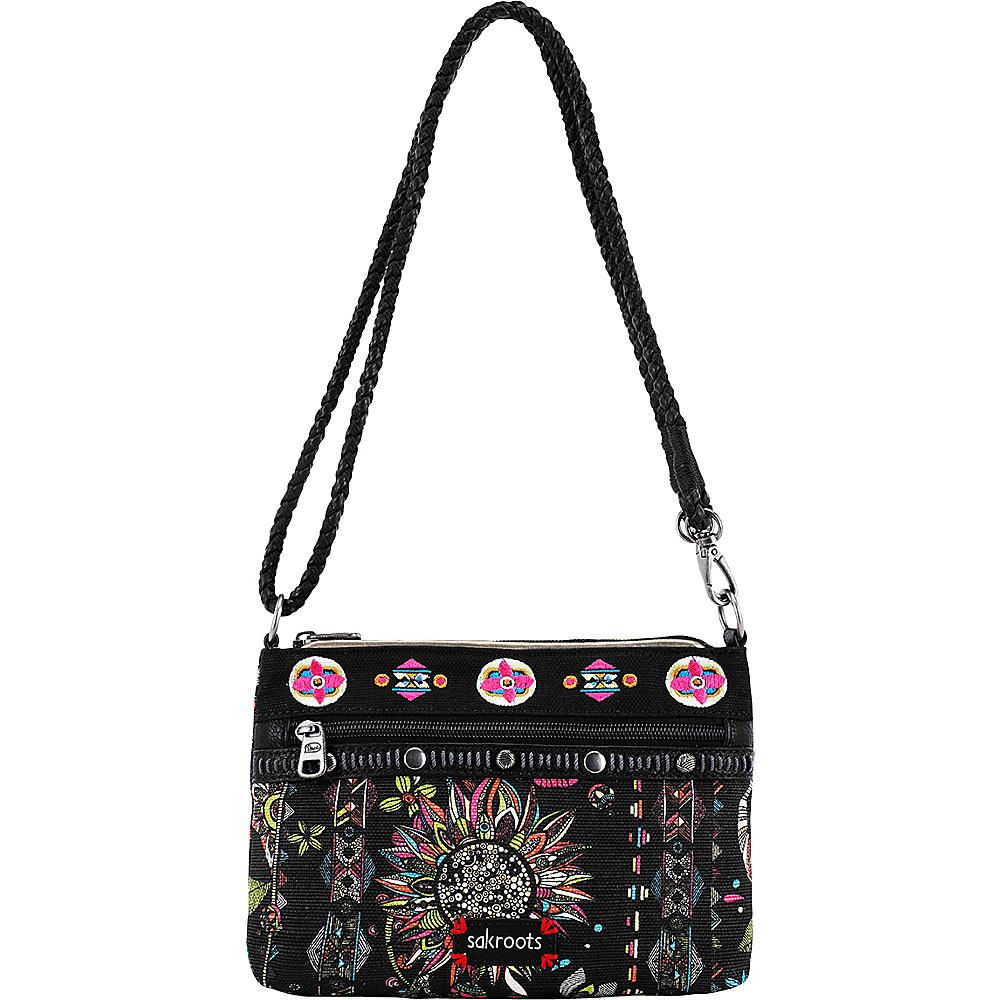 Sakroots Artist Circle Campus Mini Neon Spirit Desert - Sakroots Fabric Handbags - Handbags, Fabric Handbags