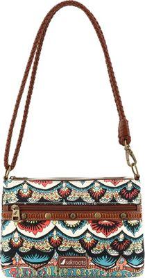 Sakroots Artist Circle Campus Mini Natural One World - Sakroots Fabric Handbags