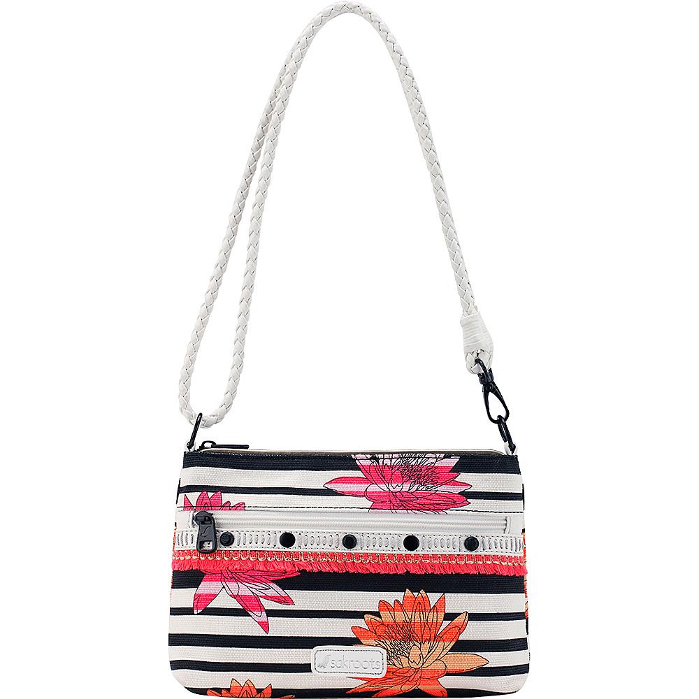 Sakroots Artist Circle Campus Mini Neon Zen Flower - Sakroots Fabric Handbags - Handbags, Fabric Handbags