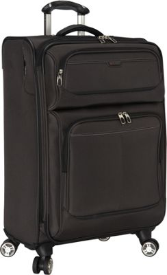 Ricardo Beverly Hills Mar Vista 24-Inch 4 Wheeled Expandable Upright Graphite - Ricardo Beverly Hills Softside Checked