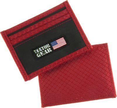 Viator Gear RFID ARMOR Half Wallet Fire