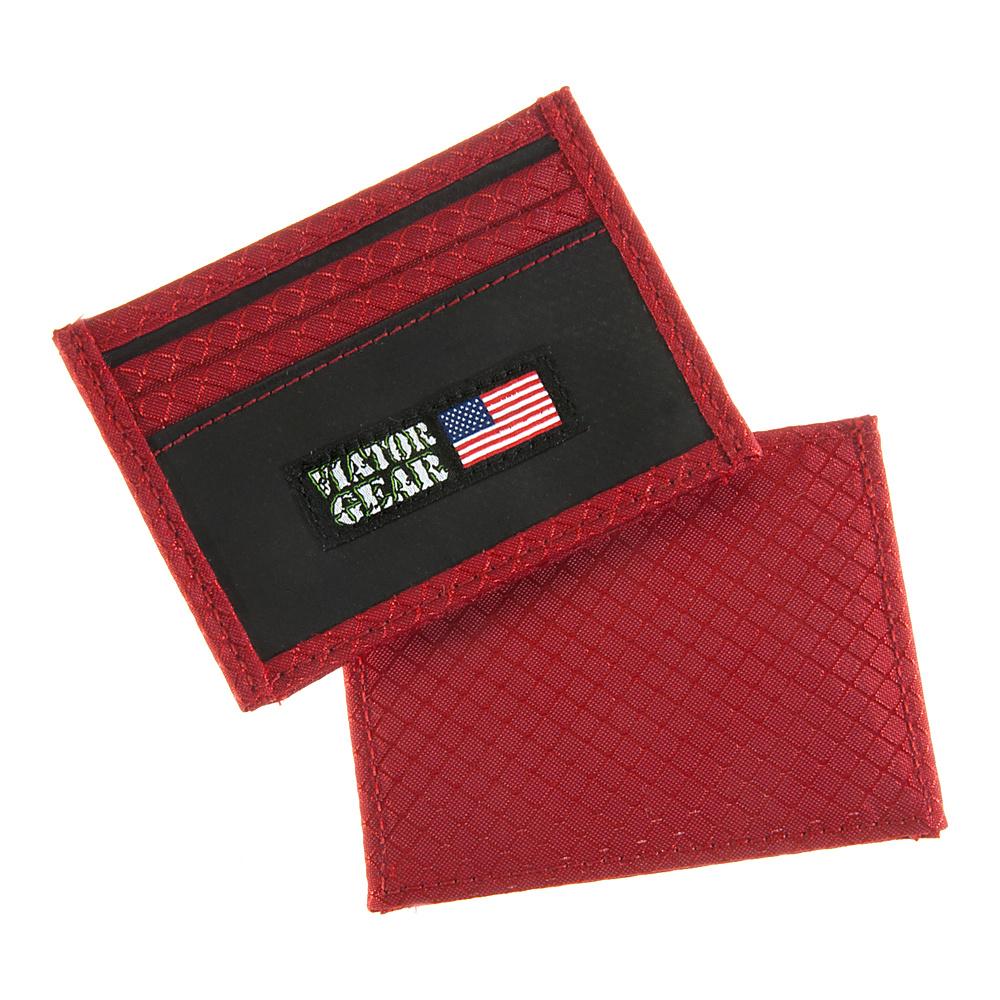 Viator Gear RFID ARMOR Half Wallet Bond (Dark Grey Ext/Black Int) - Viator Gear Men's Wallets