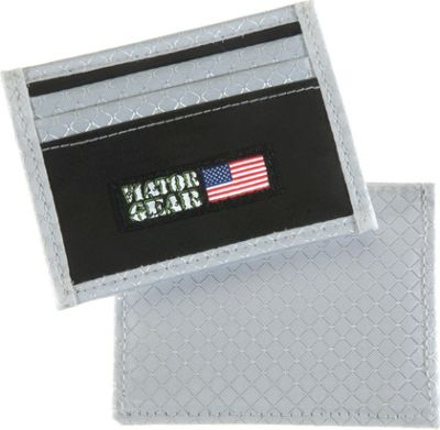 Viator Gear RFID ARMOR Half Wallet Ice