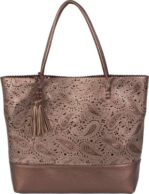 BUCO Paisley Ashlea Tote Bronze - BUCO Manmade Handbags