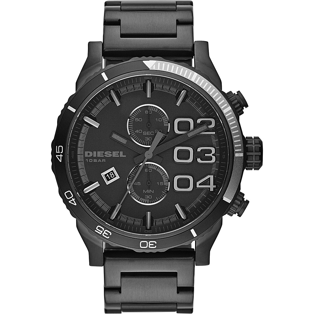 Diesel Watches Double Down 48 Watch Black/Black - Diesel Watches Watches