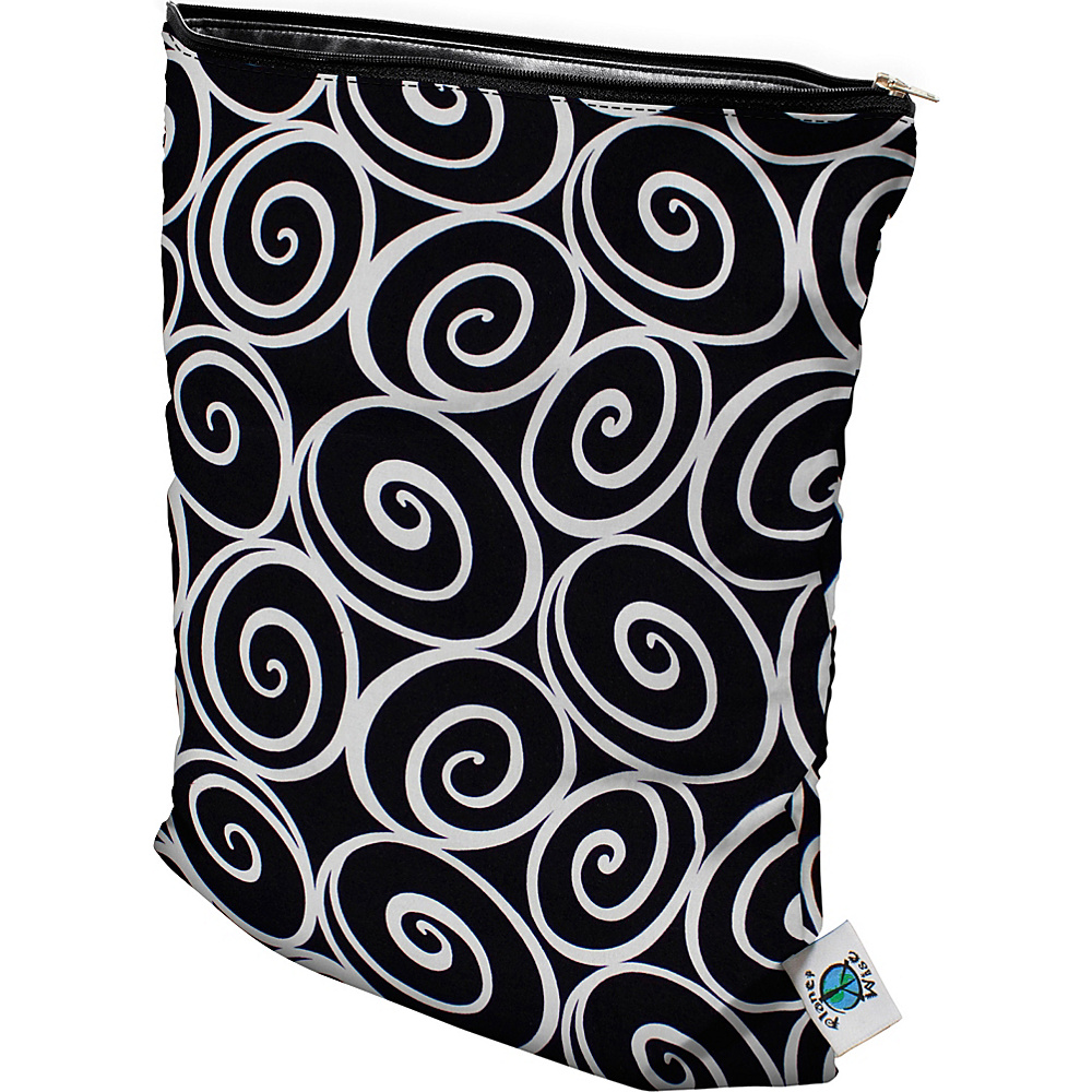 Planet Wise Medium Wet Bag Midnight Curl Planet Wise Diaper Bags Accessories