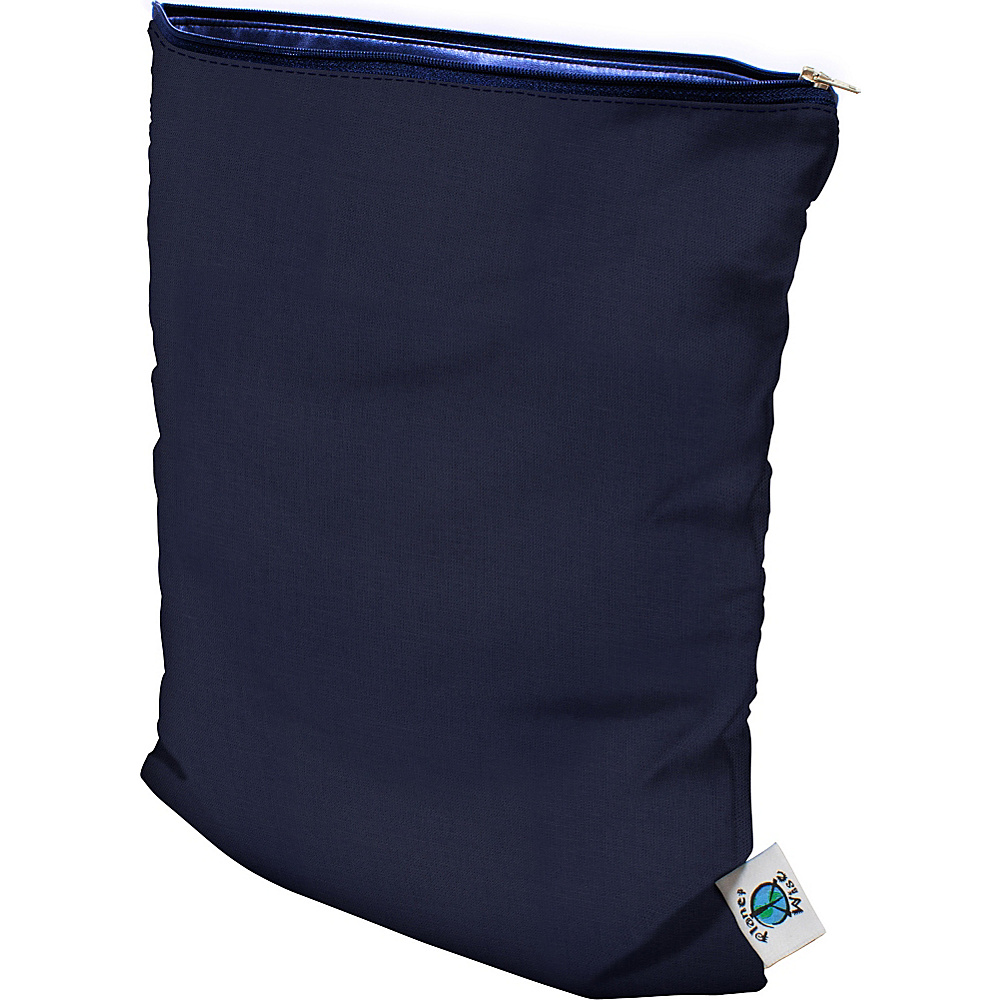 Planet Wise Medium Wet Bag Navy Planet Wise Diaper Bags Accessories