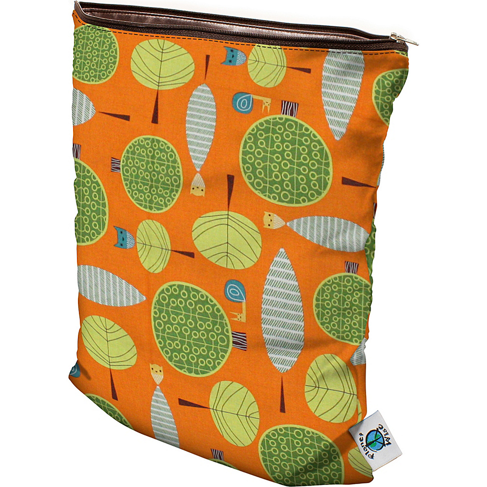 Planet Wise Medium Wet Bag Orange Woods - Planet Wise Diaper Bags & Accessories