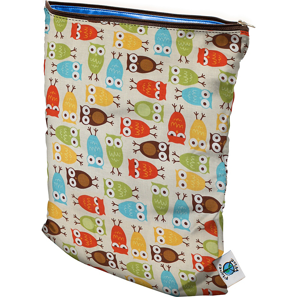 Planet Wise Medium Wet Bag Owl Planet Wise Diaper Bags Accessories