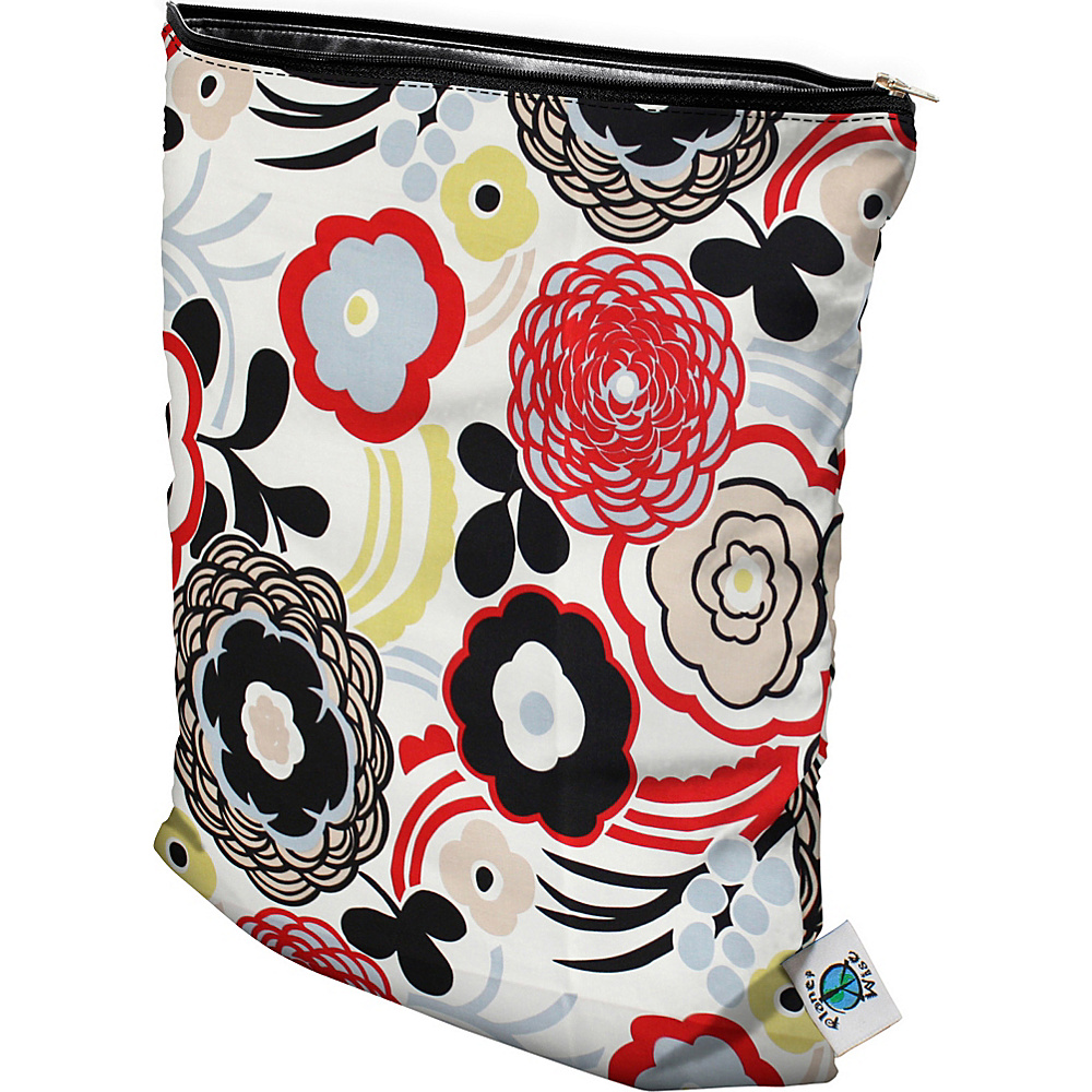 Planet Wise Medium Wet Bag Art Deco Planet Wise Diaper Bags Accessories