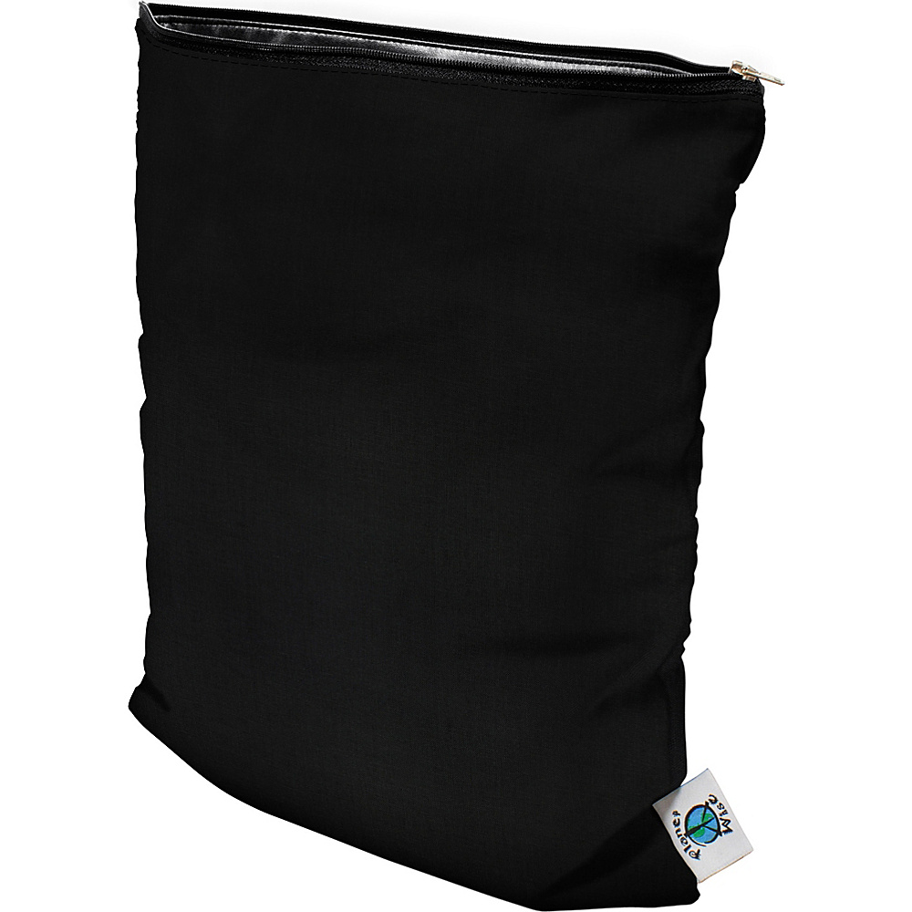 Planet Wise Medium Wet Bag Black Planet Wise Diaper Bags Accessories