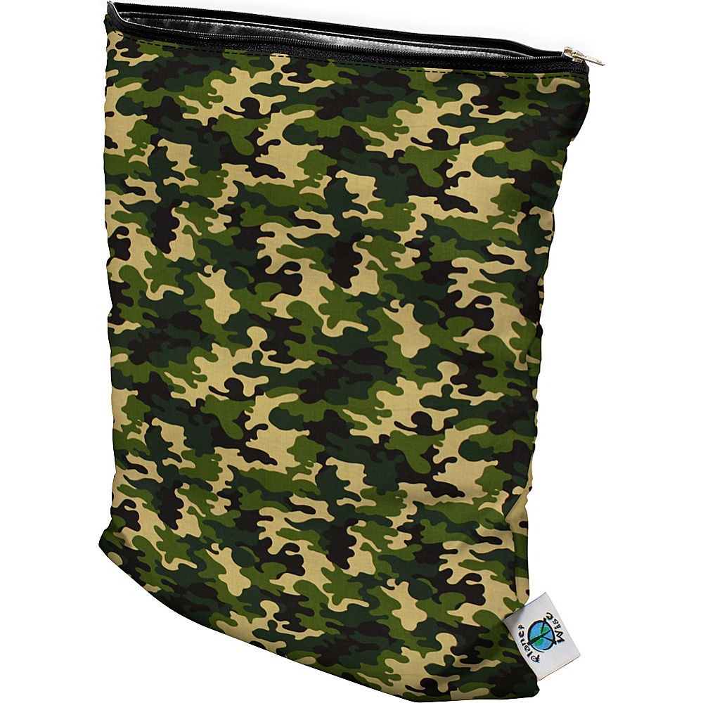 Planet Wise Medium Wet Bag Camo Planet Wise Diaper Bags Accessories