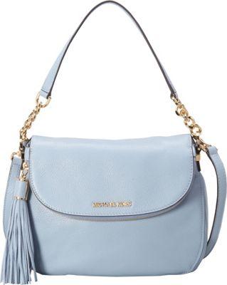 MICHAEL Michael Kors Bedford Medium Convertible Shoulder Pale Blue - MICHAEL Michael Kors Designer Handbags