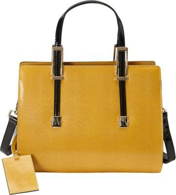 Donna Bella Designs Chloe Tote Yellow - Donna Bella Designs Leather Handbags