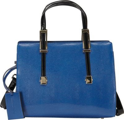 Donna Bella Designs Chloe Tote Blue - Donna Bella Designs Leather Handbags