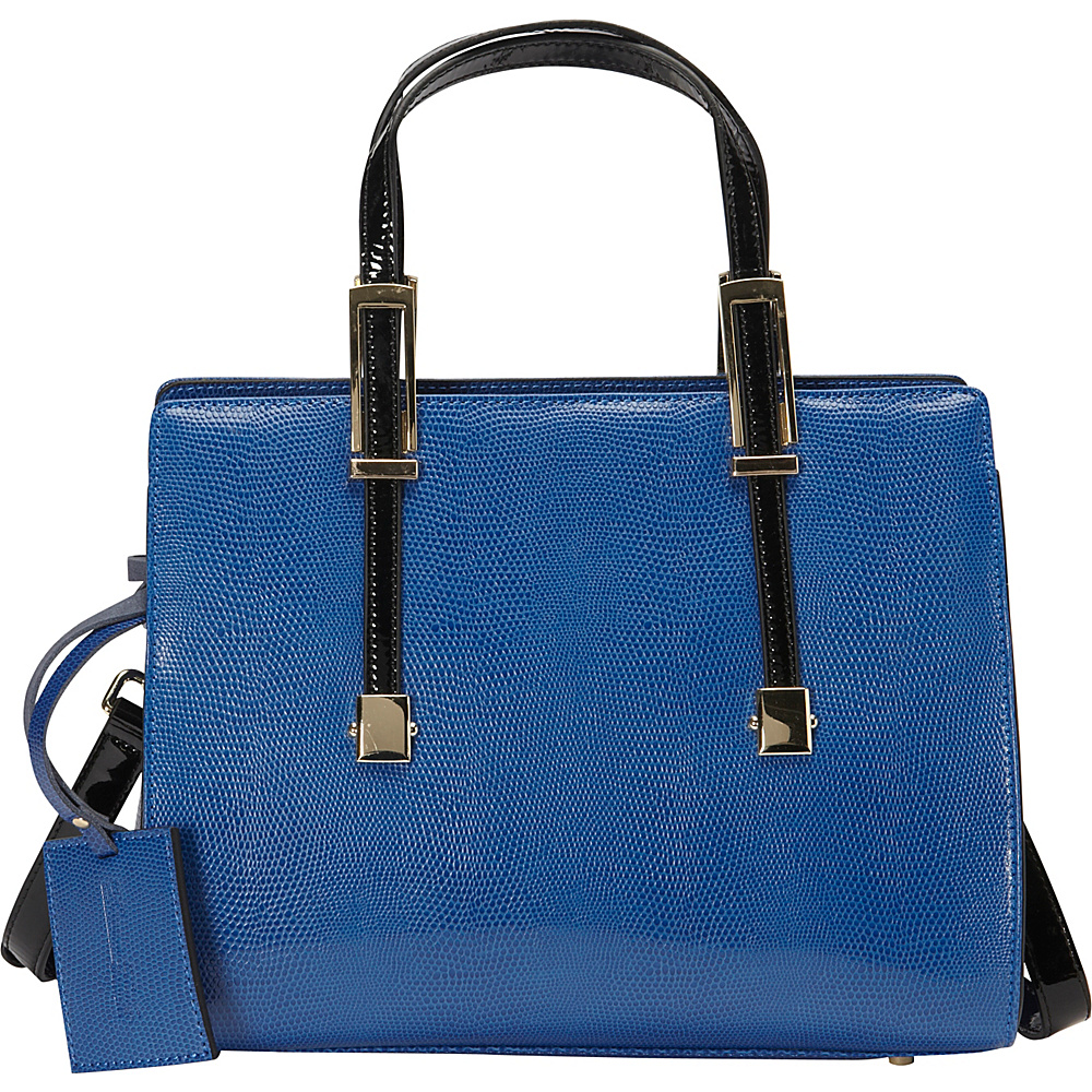 Donna Bella Designs Chloe Tote Blue - Donna Bella Designs Leather Handbags