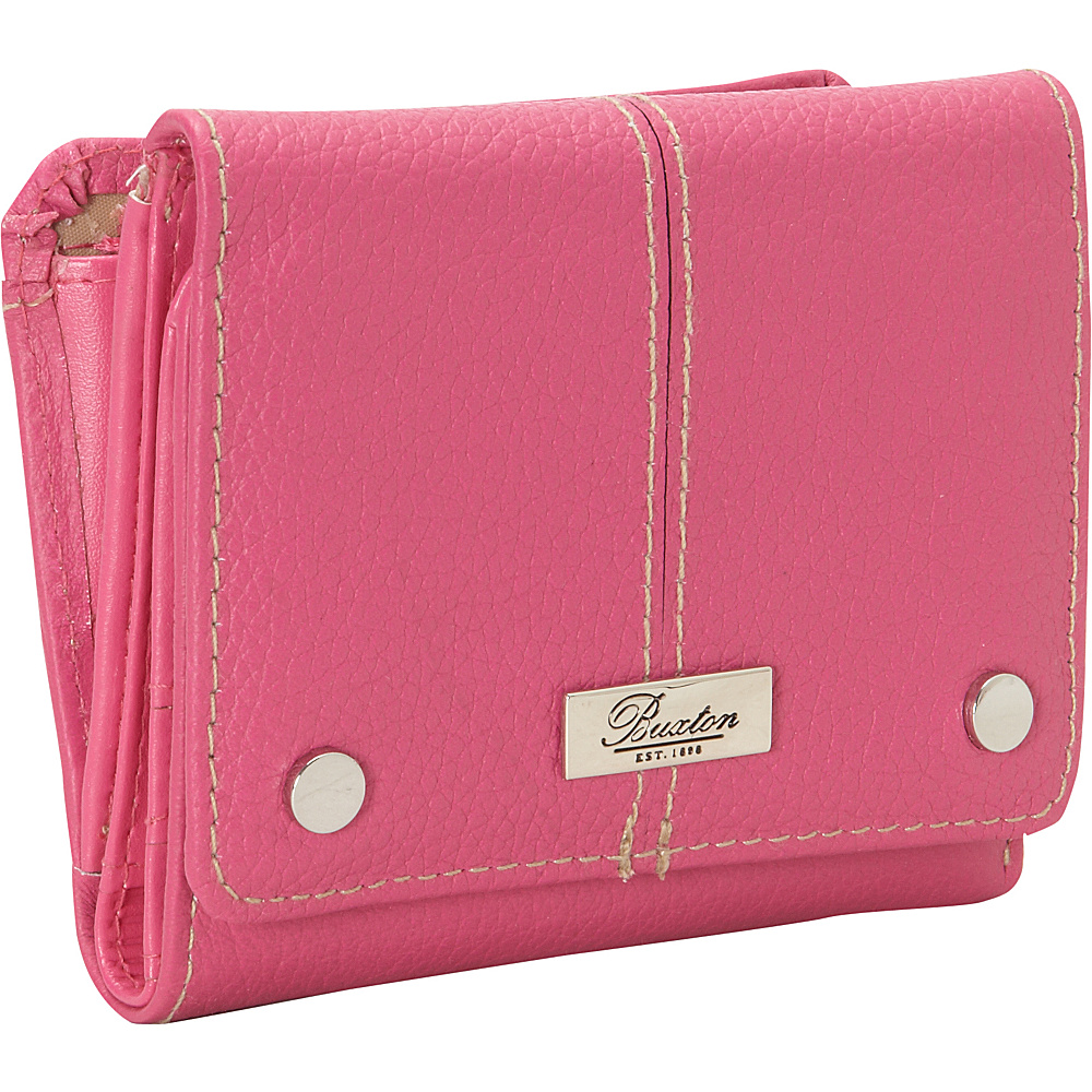 Buxton Westcott Zip French Purse Fuschia Buxton Women s Wallets