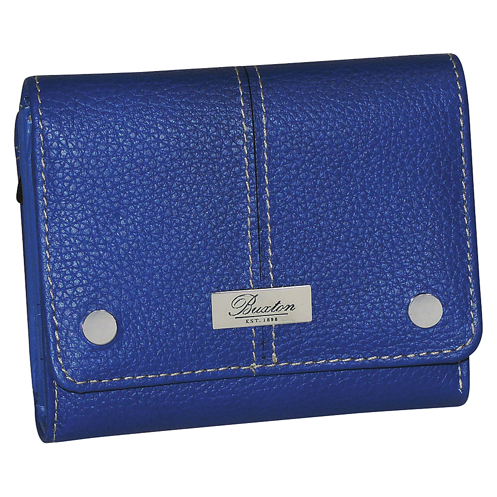 Buxton Westcott Zip French Purse Ultramarine Buxton Women s Wallets