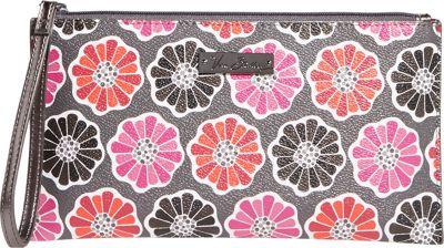 Vera Bradley Slim Zip Wristlet Blossoms - Vera Bradley Fabric Handbags