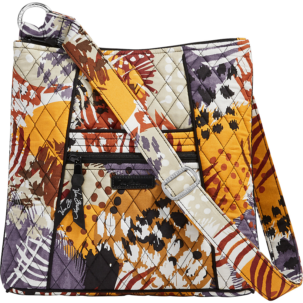 Vera Bradley Hipster Painted Feathers Vera Bradley Fabric Handbags