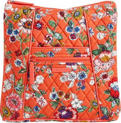 Vera Bradley Hipster Crossbody Imperial Rose - Vera Bradley Fabric Handbags