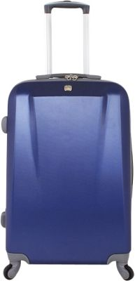 SwissGear Travel Gear 24 inch Spinner ABS Blue - SwissGear Travel Gear Hardside Checked